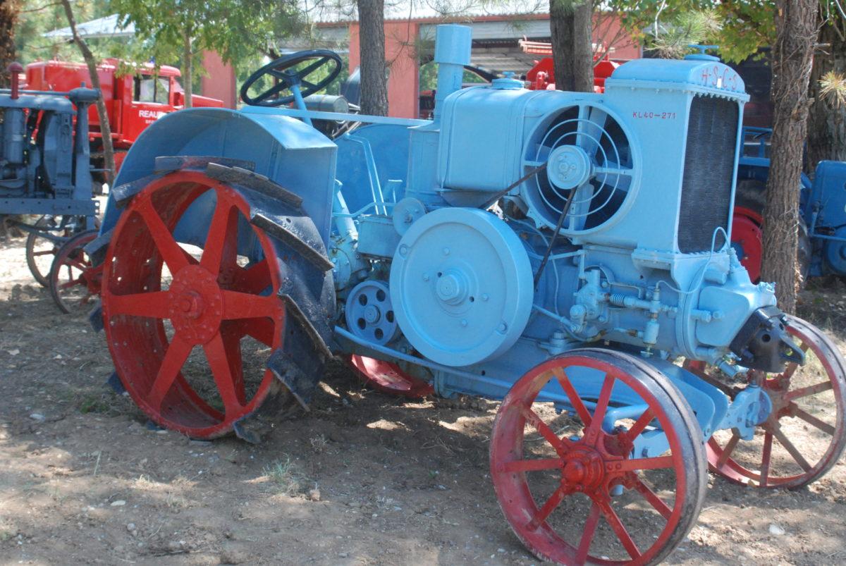 cultuur old timers Zuid Frankrijk activiteiten traktor