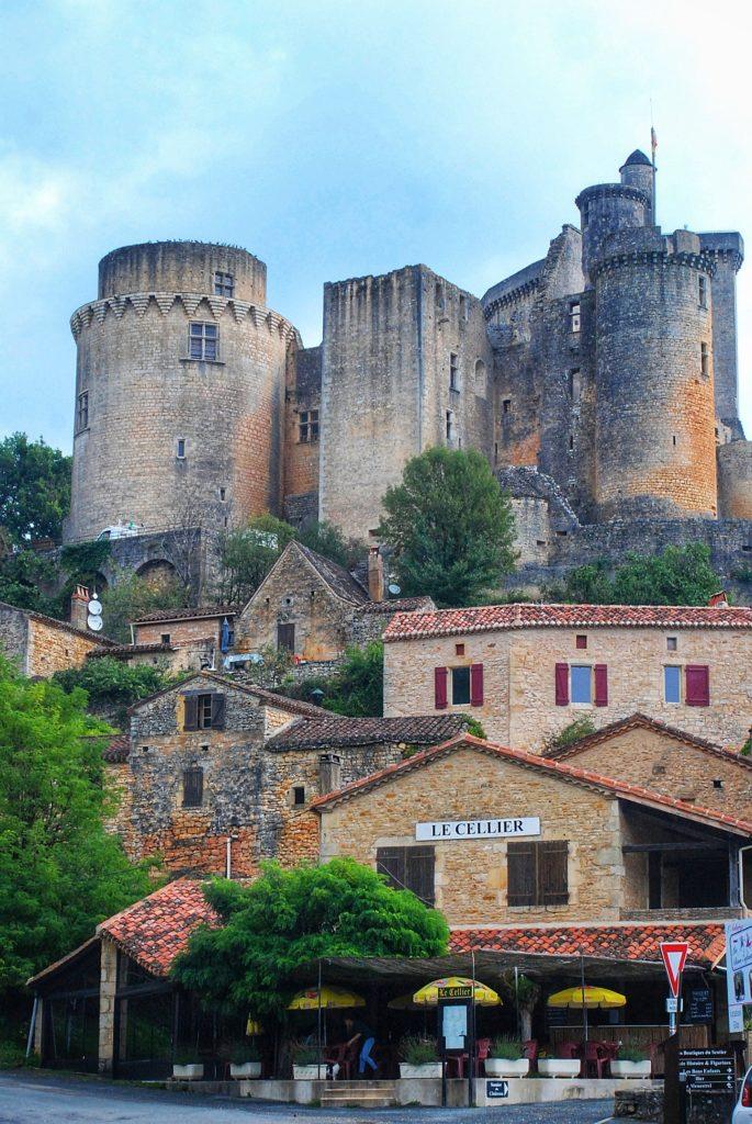 Chateau de Bonaguil kastelen Fumel Domaine du Merlet