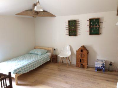 slaapkamer kinderen gîte vakantiehuisje Domaine du Merlet Zuid Frankrijk