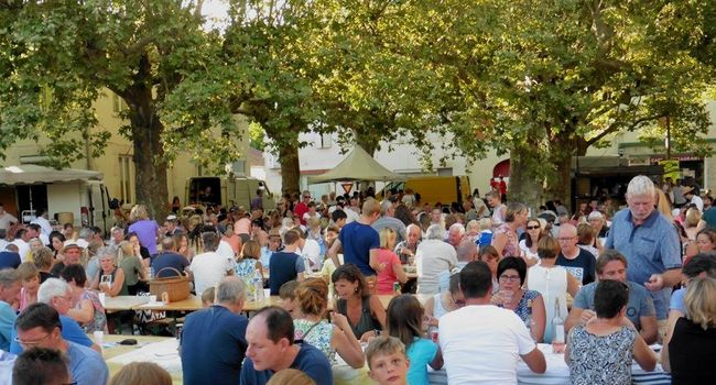 marchés gourmands eten markt Domaine du Merlet Zuid Frankrijk