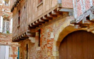 foto straatje Agen Lot-et-Garonne Zuid Frankrijk