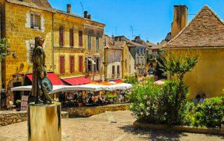 foto Bergerac steden Domaine du Merlet vliegen
