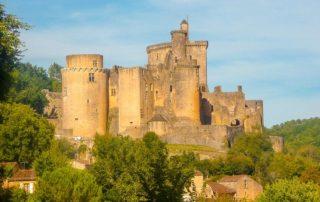 foto kasteel chateau de Bonaguil Lot-et-Garonne