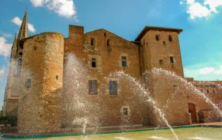 foto commanderie Temples sur Lot Lot-et-Garonne Zuid Frankrijk