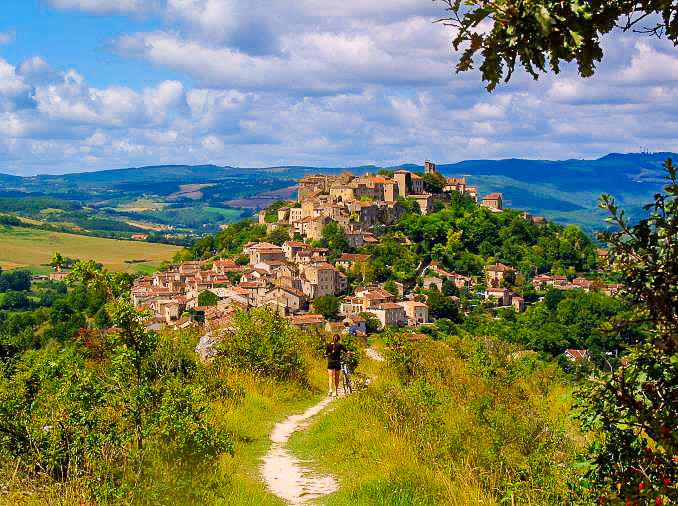 wandelen Domaine du Merlet Lot-et-Garonne Zuid Frankrijk
