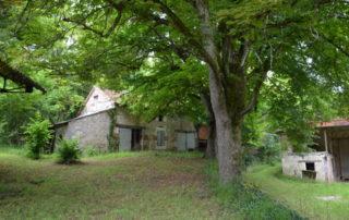 smidse smederij vakantiehuis in aanbouw Domaine du Merlet