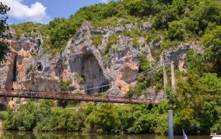 rivier Tarn rotswand