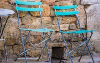 foto stoeltjes Domaine du Merlet Zuid Frankrijk