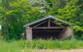 foto writer's block-hut Frankrijk