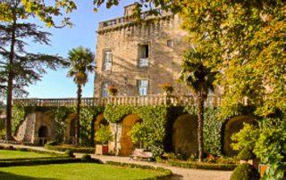 foto kasteel chateau Fumel Zuid Frankrijk