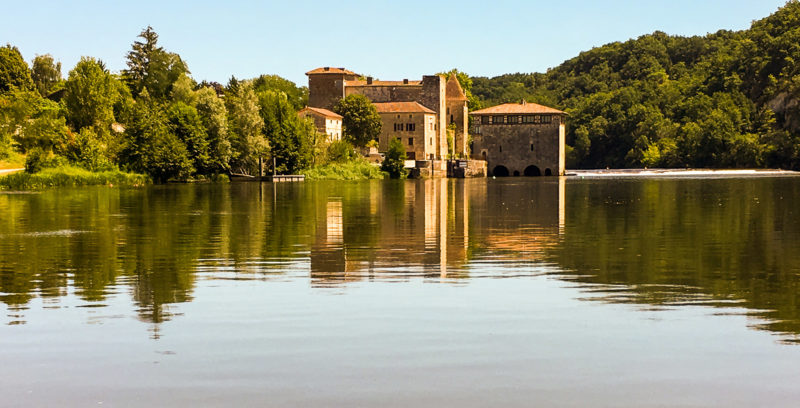 rivier Lot activiteiten Domaine du Merlet Zuid Frankrijk