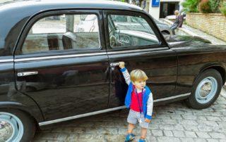 Franse old timer kinderen