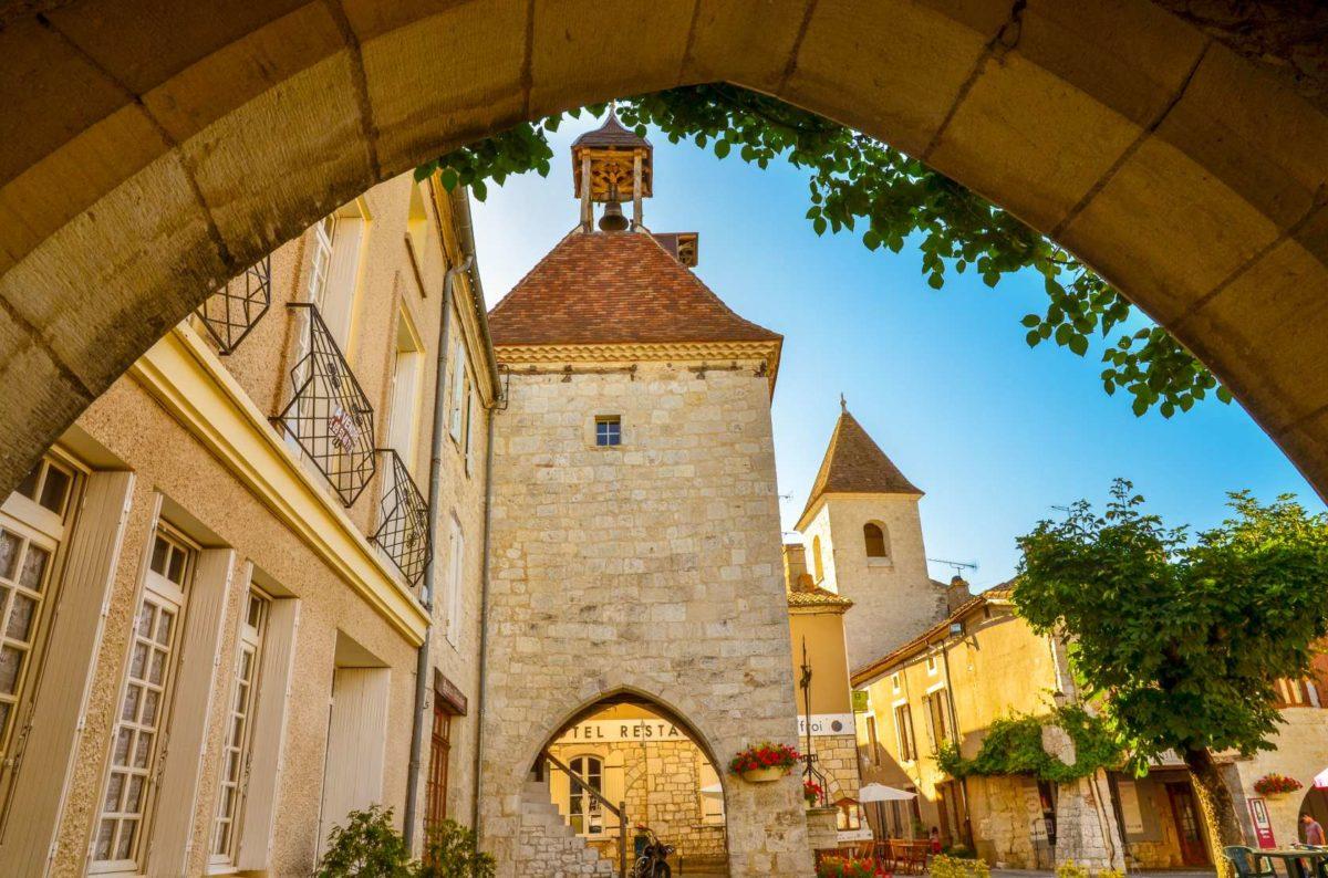 Tournon d'Agenais dorpje Domaine du Merlet Zuid Frankrijk