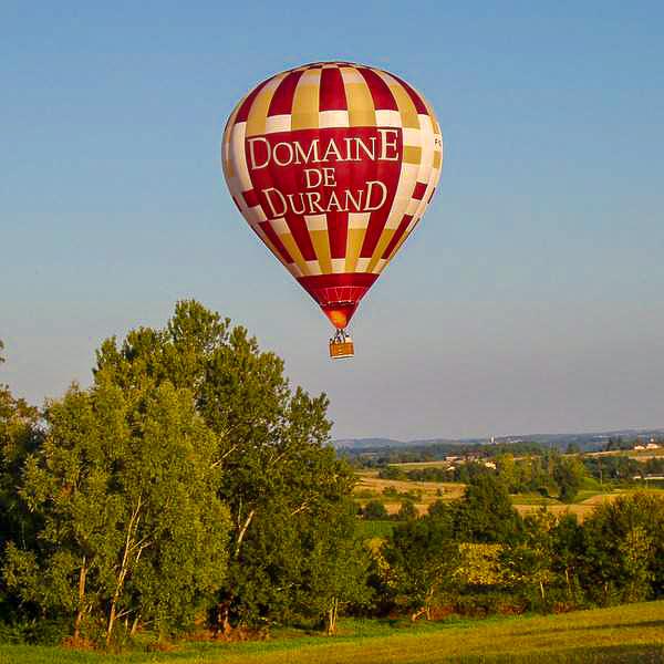 ballonvaart Lot-et-Garonne activiteiten Domaine du Merlet