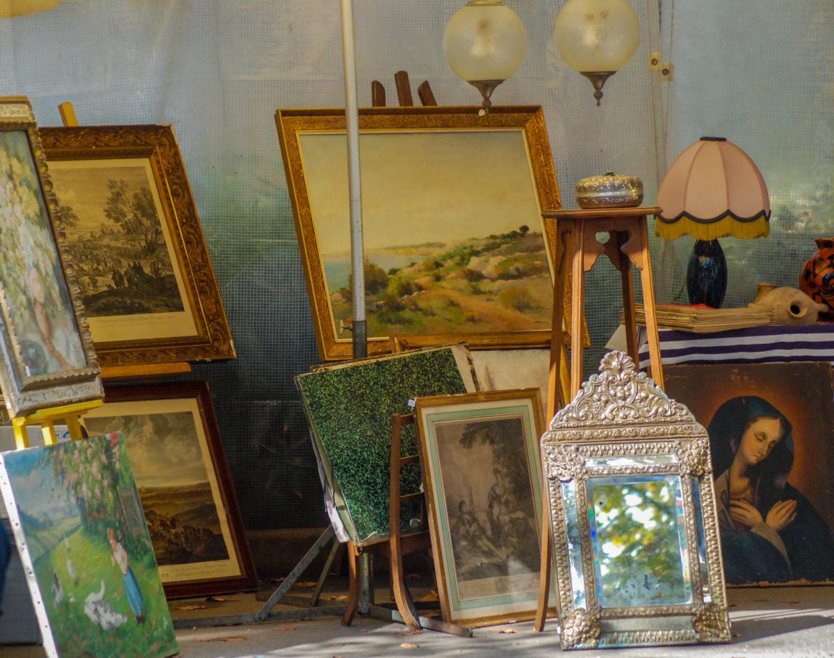 cultuur markten Domaine du Merlet Zuid Frankrijk