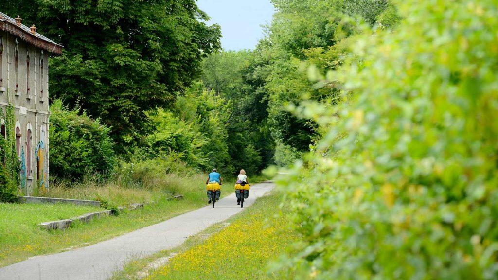fietsen activiteiten Domaine du Merlet Zuid Frankrijk