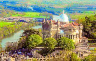 foto kathedraal Penne d'Agenais Lot-et-Garonne