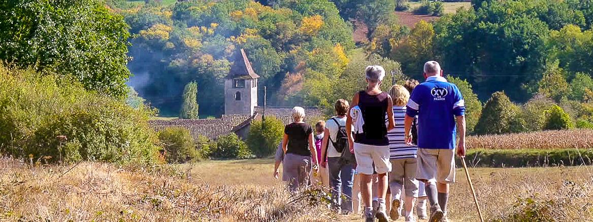wandelen Lot-et-Garonne Domaine du Merlet